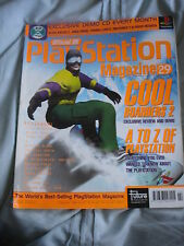 Official UK Playstation magazine with disc  issue # 29 - Cool Boarders 2