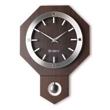 Antique Vintage Wooden Wall Clock Retro Style Modern Pendulum Clock - MW162W