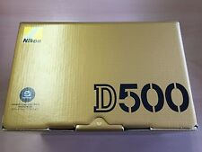 New Nikon Digital Single Lens Reflex Camera D500 Body ONLY from JAPAN