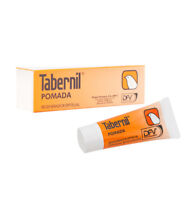 Tabernil Pomada Tube Ointment that Combines of Therapeutic Actions of 9.25 gr