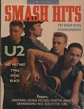 U2 on Magazine Cover 1987  Madonna  Bananarama  Rick Astley  Robert Smith  T'Pau