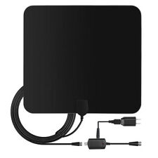 HDTV Antenna Indoor Digital TV - Long Range Amplifier 50 Miles -110V Power 13FT
