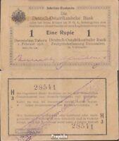 Deutsch-Ostafrika Rosenbg: 929b Serie: H3 gebraucht (III) 1916 1 Rupie