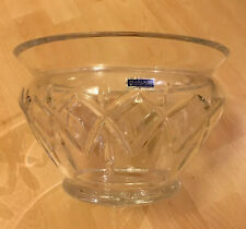 More details for marquis by waterford glenford large 10 inch footed crystal glass bowl 3.3kg