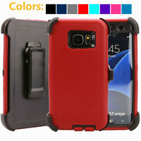 For Samsung Galaxy S7 / S7 Edge Hard Shockproof Case Clip Fits Otterbox Defender