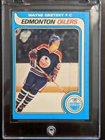 "1979-80 O-Pee-Chee OPC #18 WAYNE GRETZKY ""First Print"" Lines RC Rookie"