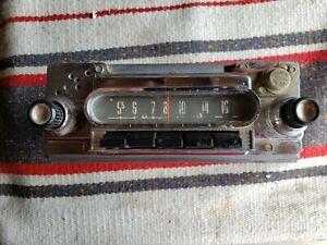 1960-64 Ford Fairlane Push Button AM Radio