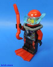 LEGO 60122 / CITY (nr.23) FIGURINE / Plongeur avec outil / 1 pièce