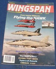 WINGSPAN MAGAZINE OCTOBER 1992 - FROM TOWING GLIDERS TO FLYING THE HAWK