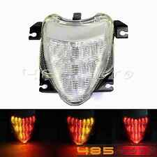 Clear LED Tail Light Brake Turn Signals For Suzuki Boulevard M109R 2006-2009 07