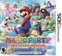Mario Party: Island Tour, (3DS)