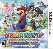 Mario Party: Island Tour (Nintendo 3DS, 2013) 1st PRINT NEW SEALED NIB NES HQ