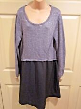 WOMENS DRESS SIZE 14/16 LANE BRYANT HOLIDAY GLAM DRESS EASY BLING WEAR MSRP $89