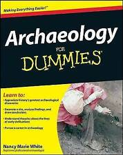 Archaeology for Dummies  BOOK NEW
