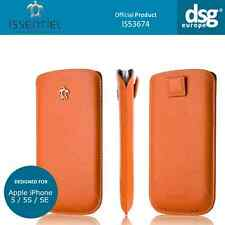 Issentiel Paris - Genuine Leather Pouch Case for iPhone 5S 5 5C SE - Orange