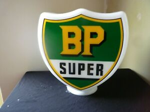GLASS BP Petrol Pump Globe