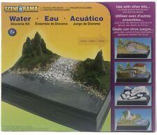 NEW! Woodland Scenics SP4113 Scene-A-Rama Water Diorama Kit River Pond Landscape