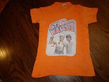 Vintage Star Wars 3Cpo & Luke 100% Cotton Printed T-Shirt size 10-12 Made In Usa