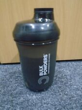 Bulk Powders Shakerstore Performance Delivery Black Shaker Flask