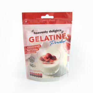 Halal Beef Gelatine Powder 50g-1KG Unflavoured   Premium Quality HMC CERTIFIED