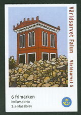 SWEDEN (H554) Scott 2481e, UNESCO World Heritage Falun booklet, VF