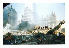 World Trade Center WTC 9/11 Destruction & Rescue FDNY NYPD 3 PHOTOS Never Seen 2