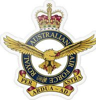 RAAF Royal Australian Air Force Transparent Sticker
