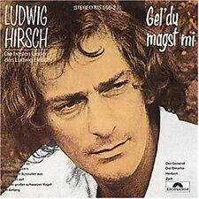 Ludwig Hirsch Gel' du magst mi-Die besten Lieder (10 tracks, 1978-83) [CD]