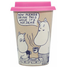 Moomin 'Drink This While Its Hot' Huskup 400ml Travel Mug - with a Box