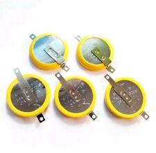 5 X Nouveau 3 V à onglets CR2032 sauver Batterie pour Game Boy Pokemon Bleu Rouge Argent Or