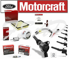 Motorcraft Tune Up Kit 2009-2010 Ford F150 4.6L Ignition Coil DG508 FA1883 SP493