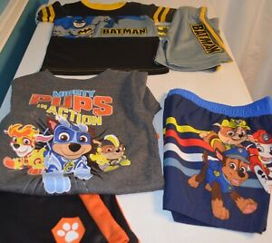Baby Boy 2T Clothes Lot of 3 Outfits, 5 Pieces New Batman, Paw Patrol
