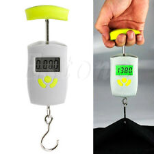 Portable Digital Weight Scale Electronic LCD Hanging Luggage Pocket Weigher 50Kg