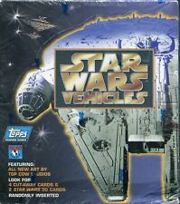More details for star wars vehicles factory sealed hobby box 36 packs