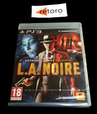 L.A. NOIRE Rockstar Sony Playstation 3 PS3 Play Station 3 PAL-España New Nuevo