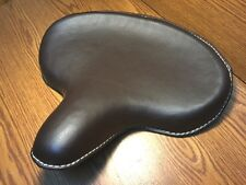 New Vintage Style Brown Solo Seat for Harley