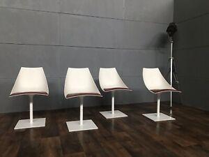 Tulip Set Office Dinner chairs  60/70/80er Jahre Design massive Ausführung