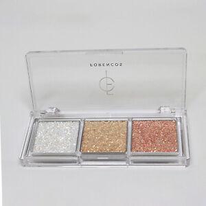 FORENCOS Bare Glitter Palette 0.21oz / 6 g #01 Nudy  Transparent glitter K-Beaut