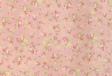 Cottage Shabby Chic Quilt Gate RURU Bouquet Tiny Roses Fabric RU2200Y-18B BTY