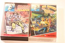 Lavoro Lotto di 2 GIOCHI COMMODORE C64 BIG Trouble in Little China & Rogue Trooper