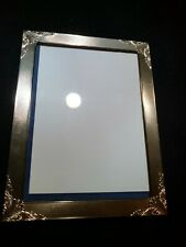 "ITALIAN STERLING REPOUSSE PICTURE FRAME 8"" x 6"" MADE IN ITALY"