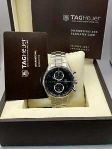 TAG Heuer CAR2110.BA0724 Carrera Chronograph Calibre 1887 Analogue Men's Watch