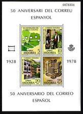 Andorran Stamp Blocks