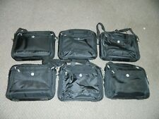 """Lot of 6 OEM Authentic Dell Laptop Tablet Computer Cases 16"""" Wide Carrying Bag"""