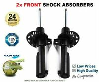 2x FRONT AXLE Shock Absorbers for FIAT DUCATO Box 120 Multijet 2.3D 4x4 2010->on