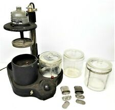 Model With 3 Jars , baskets, Works! L & R Watch Cleaning Machine Heavy Duty