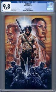 BRZRKR #1  Mark Brooks 1:100 Virgin Variant  Keanu Reeves 1st Print CGC 9.8
