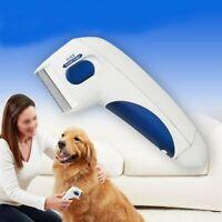 Flea Electric Flea Comb-Great for Dogs & Cats Pet Brush Anti Tick AU