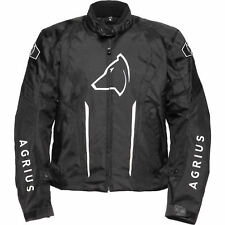 Agrius Phoenix Motorcycle Jacket L Black