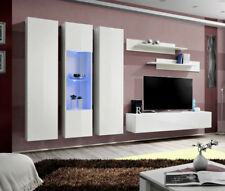 Idea c2 - modern tv console / living room entertainment center /  tv wall unit